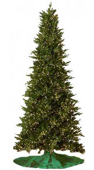 home depot fake christmas trees