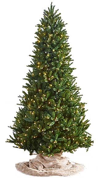 LED Pre-Lit Christmas Trees | Santa's Best